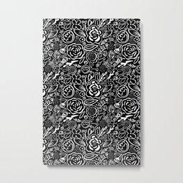 A Profusion of Flowers III Metal Print