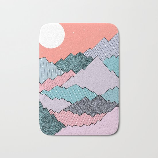 Mountain Tones Bath Mat