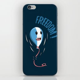 Baloon Freedom iPhone Skin