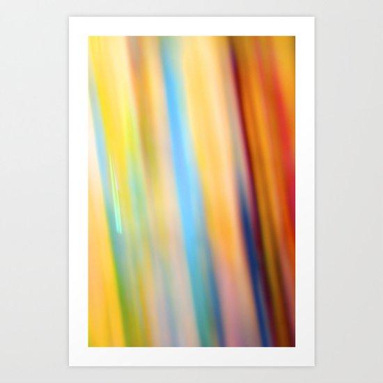 Paint & Sequins 7955 Art Print