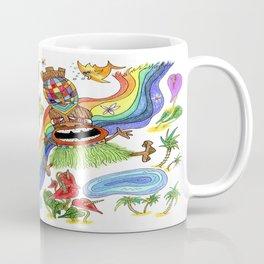 Hawaiian Tiki Play Date Coffee Mug