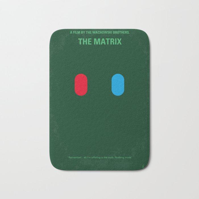 No093 My The Matrix minimal movie poster Bath Mat