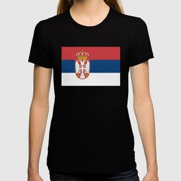Flag of Sebia T-shirt