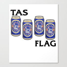 Cascade Lager - Breakfast of Champions Canvas Print