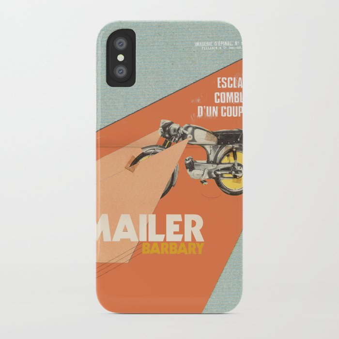 Mailer Barbary iPhone Case