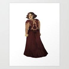 Dress #4 Art Print
