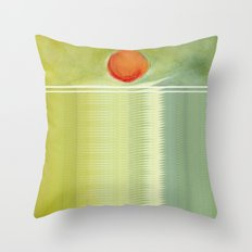 green 1 | digital sessions Throw Pillow