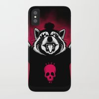 raccoon iPhone & iPod Cases featuring Raccoon! by Pigboom Art