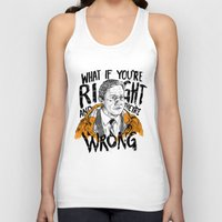 fargo Tank Tops featuring What if You're Right by RJ Artworks