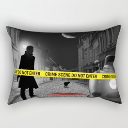 Crime scene do not enter Rectangular Pillow