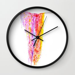 Colourwash Wall Clock