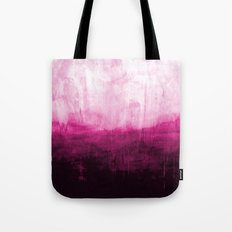 Paint 7 pink abstract painting ocean sea minimal modern bright colorful dorm college urban flat Tote Bag