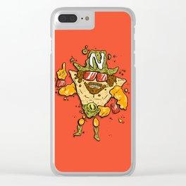 Nacho Man Clear iPhone Case