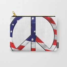Peace Sign Carry-All Pouch