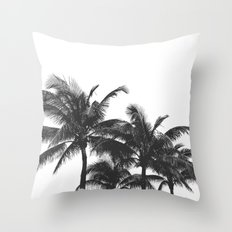 Simple palm trees Throw Pillow