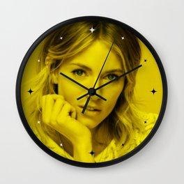 Sienna Miller - Celebrity (Florescent Color Technique) Wall Clock