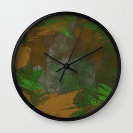 Camo Abstract Wall Clock