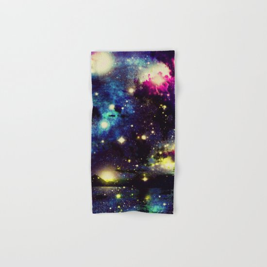 space traffic  Hand & Bath Towel