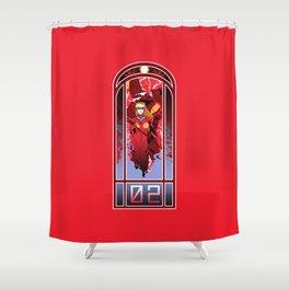 Eva Nouveau 02 Shower Curtain