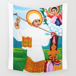 St. Yared the Ethiopian Orthodox Tewahedo Music Pioneer  Wall Tapestry