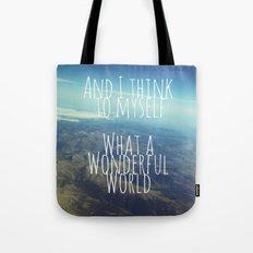 And I Think To Myself... Tote Bag