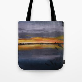 Smith's Point Sunrise Tote Bag