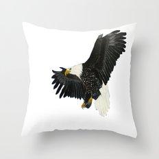 Bald Eagle-4 Throw Pillow