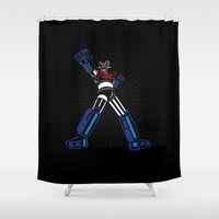 Typezinger Shower Curtain