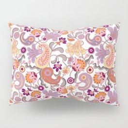 Pastel Paisleys Pillow Sham