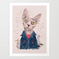 gangster Art Prints featuring The Gangster by dogooder