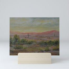 Saguaro Sunset WC151206d-13 Mini Art Print