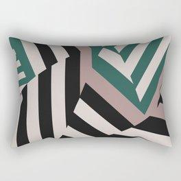 ASDIC/SONAR Dazzle Camouflage Graphic Design Rectangular Pillow