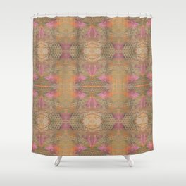 Gold Dust Weave 009 Shower Curtain