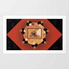 Diplomacy Art Print