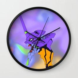 Eva01 Wall Clock