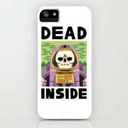 DEAD INSIDE iPhone Case