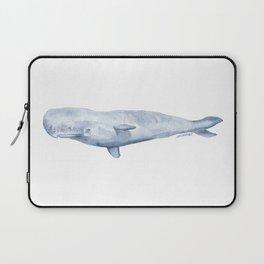 Sperm Whale Watercolor Laptop Sleeve