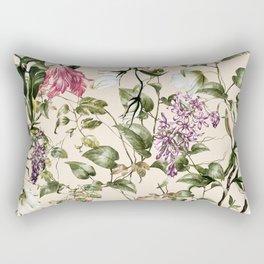 Pastel colors botanical garden Rectangular Pillow