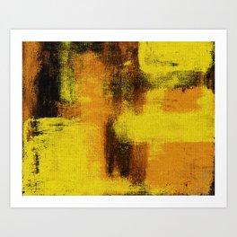Argiope (Landscape) Art Print