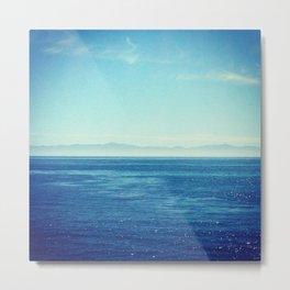 Channel Islands In Mist Metal Print