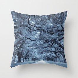 Plantation Avenue Throw Pillow