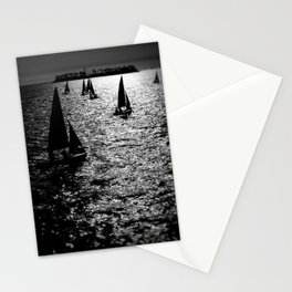 Sailing Silhouettes Stationery Cards