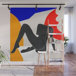 Abstract Art Nude 2 Wall Mural