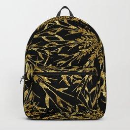 Black Gold Glam Nature Backpack