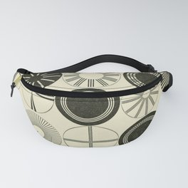 Vintage Astigmatic Chart Fanny Pack