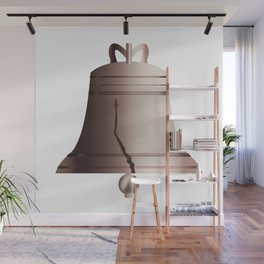Liberty Bell With Crack Wall Mural