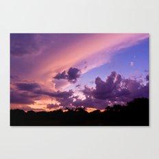 candy skys. Canvas Print