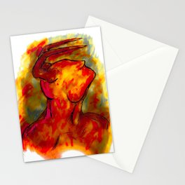 """""""Pan"""" Stationery Cards"""