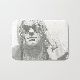 Kurt from Nirvana Bath Mat