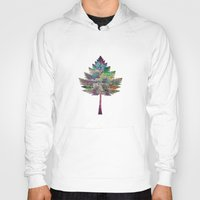 chic Hoodies featuring Like a Tree 2. version by Klara Acel